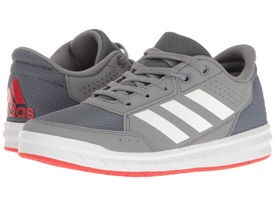 adidas Kids AltaSport (Little Kid/Big Kid) (Onix/White/Grey) Boys Shoes