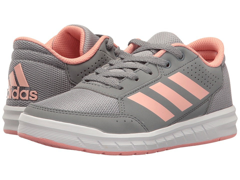 adidas Kids AltaSport (Little Kid/Big Kid) (Mid Grey/Still Breeze/Grey) Girls Shoes