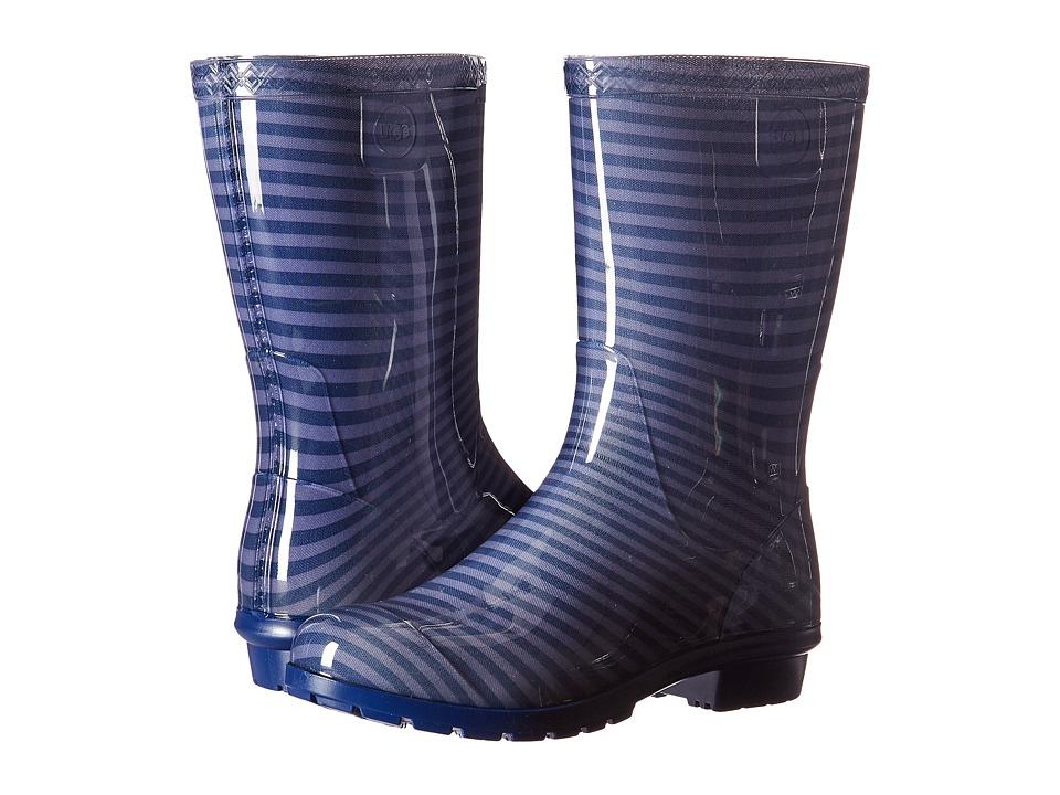 UGG Kids - Raana Stripes (Little Kid/Big Kid) (Marino) Girls Shoes