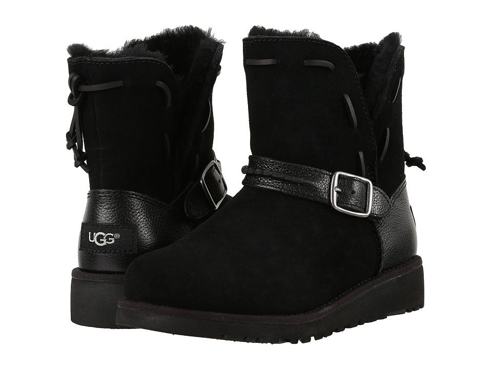UGG Kids - Tacey (Little Kid/Big Kid) (Black) Girls Shoes