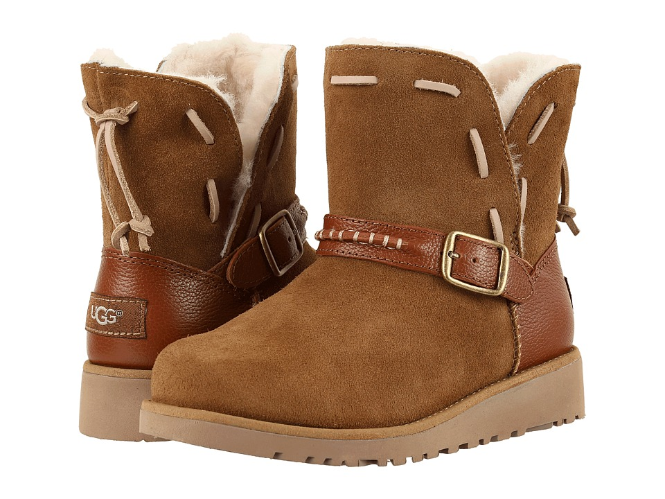 UGG Kids - Tacey (Little Kid/Big Kid) (Chestnut) Girls Shoes