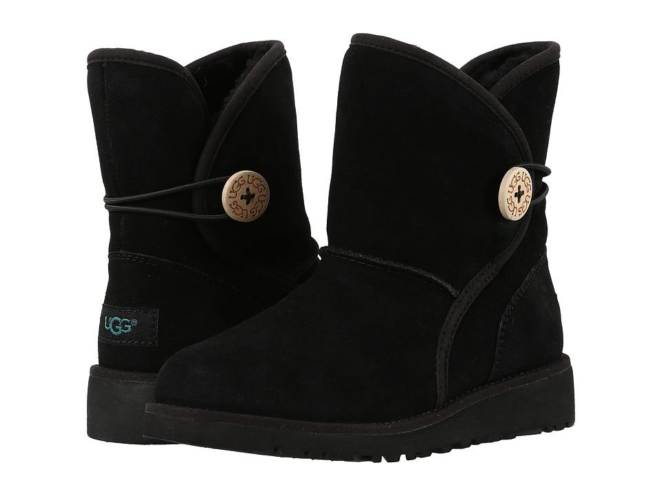 UGG Kids - Fabian (Little Kid/Big Kid) (Black) Girls Shoes