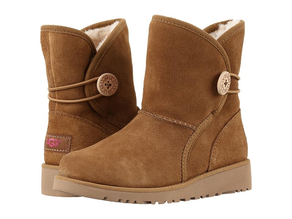 UGG Kids - Fabian (Little Kid/Big Kid) (Chestnut) Girls Shoes