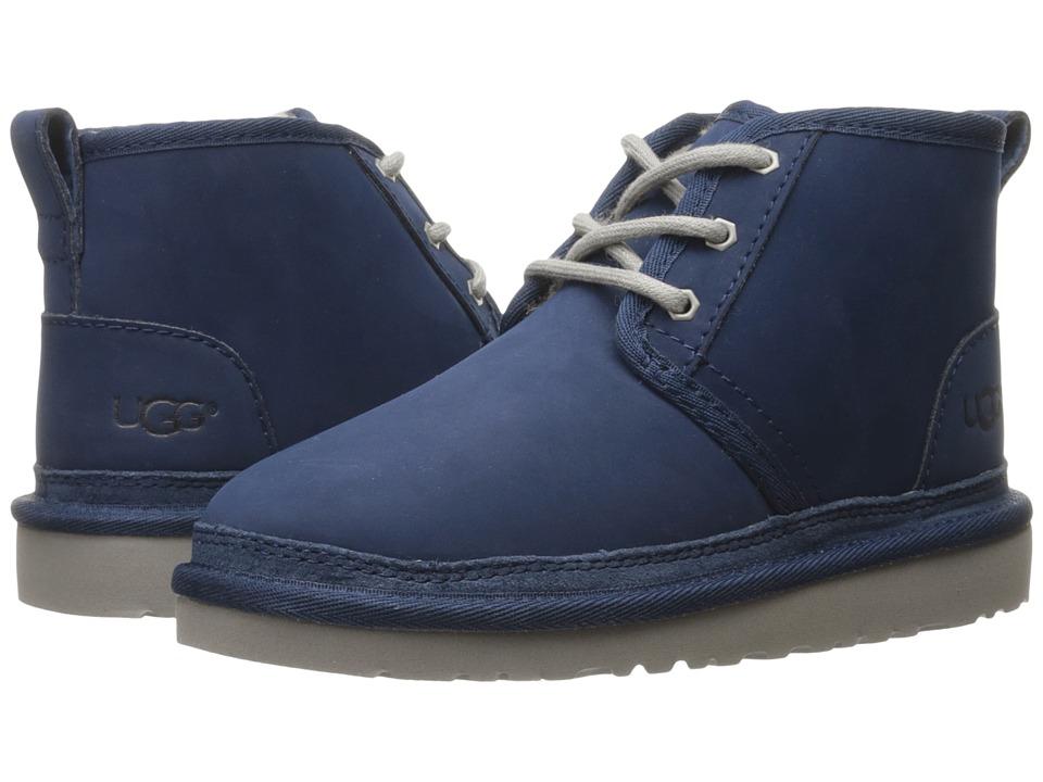 UGG Kids Neumel (Little Kid/Big Kid) (New Navy) Kids Shoes