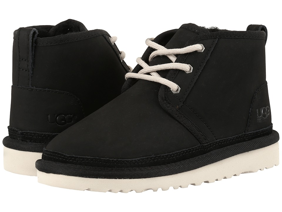 UGG Kids - Neumel (Little Kid/Big Kid) (Black 2) Kids Shoes