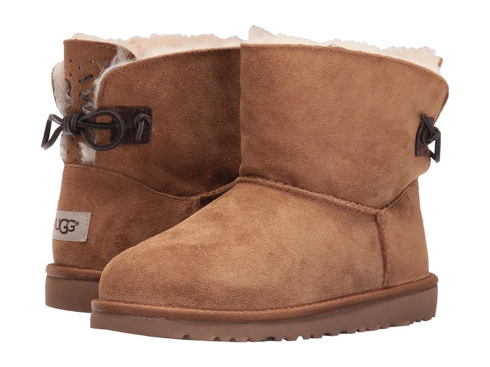 UGG Kids Adoria Tehuano (Big Kid) (Chestnut) Girls Shoes
