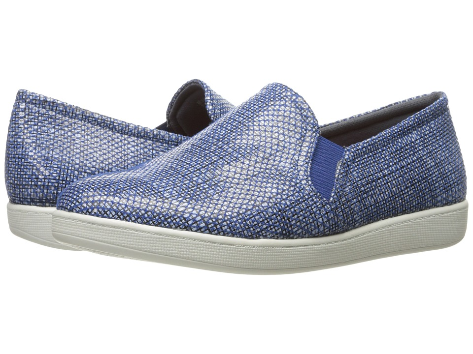 Trotters - Americana (Navy/White) Women's Slip on Shoes