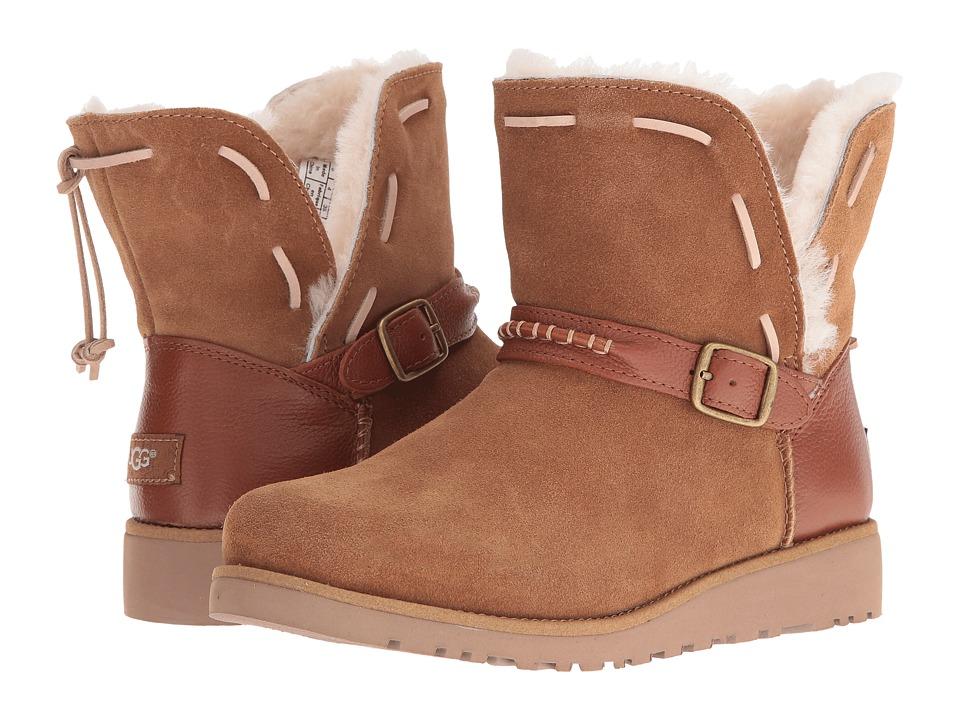 UGG Kids Tacey (Big Kid) (Chestnut) Girls Shoes