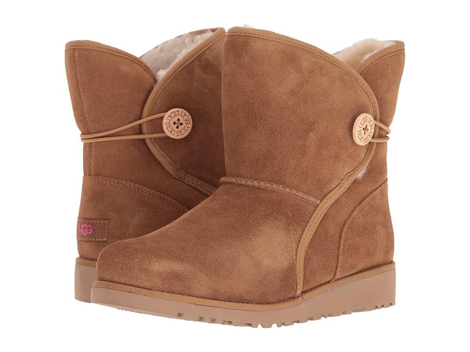 UGG Kids - Fabian (Big Kid) (Chestnut) Girls Shoes