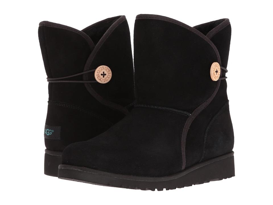 UGG Kids - Fabian (Big Kid) (Black) Girls Shoes