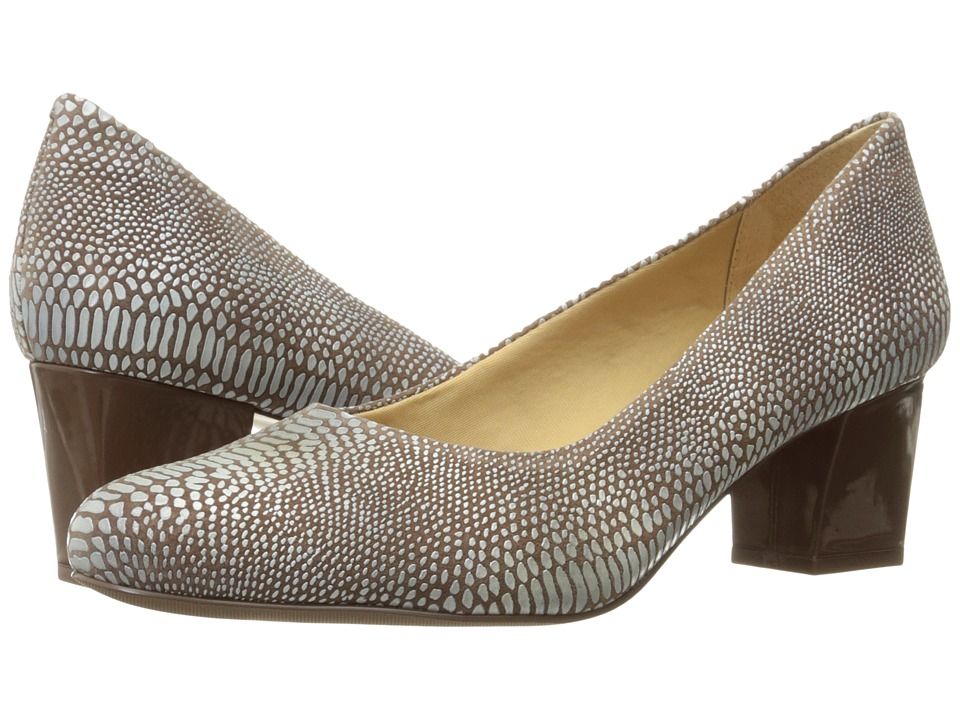 Trotters - Candela (Light Multi Lizard) High Heels