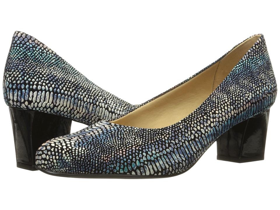 Trotters - Candela (Dark Multi Lizard) High Heels