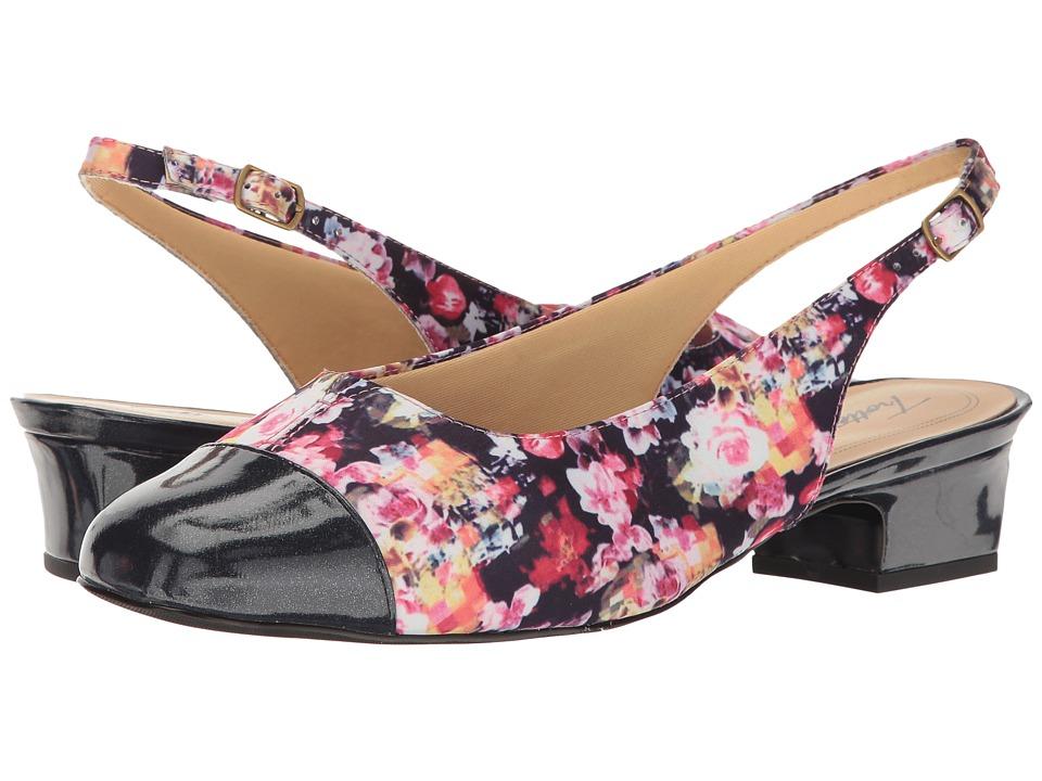 Trotters - Dea (Wash Floral) Women's 1-2 inch heel Shoes