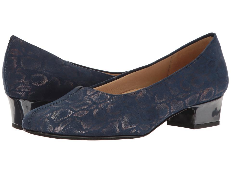 Trotters - Doris (Navy) Women's 1-2 inch heel Shoes
