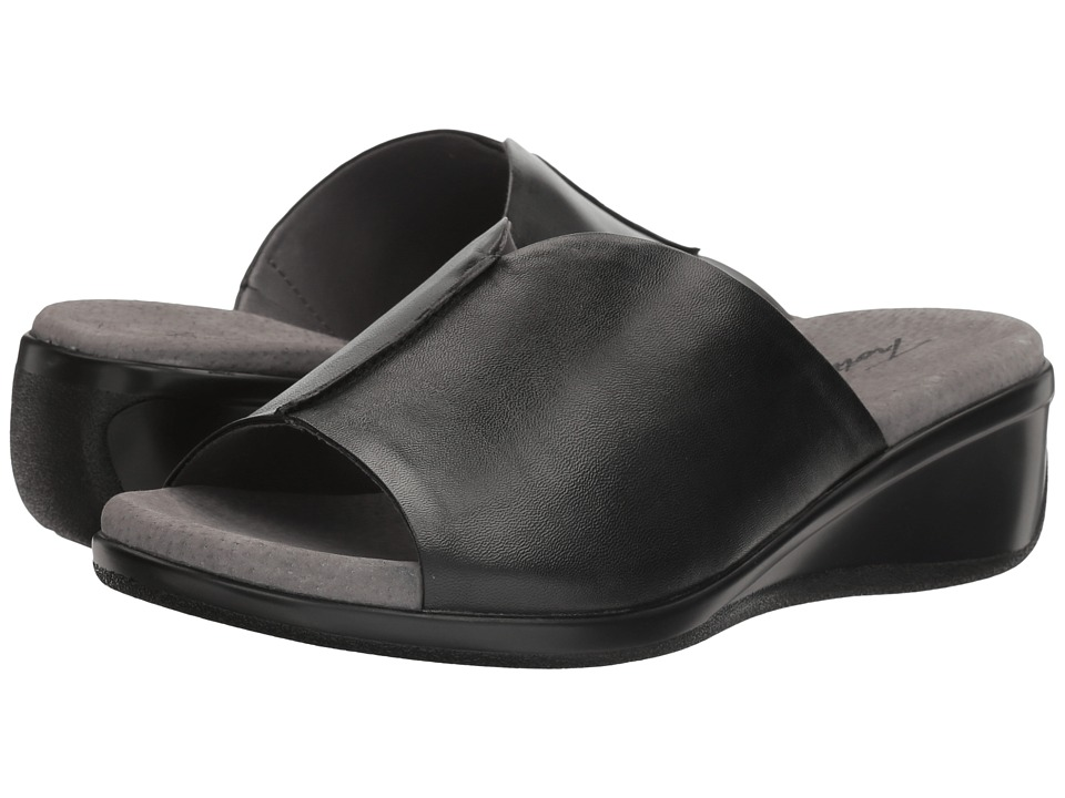 Trotters - Ellie (Black) Women's Slide Shoes