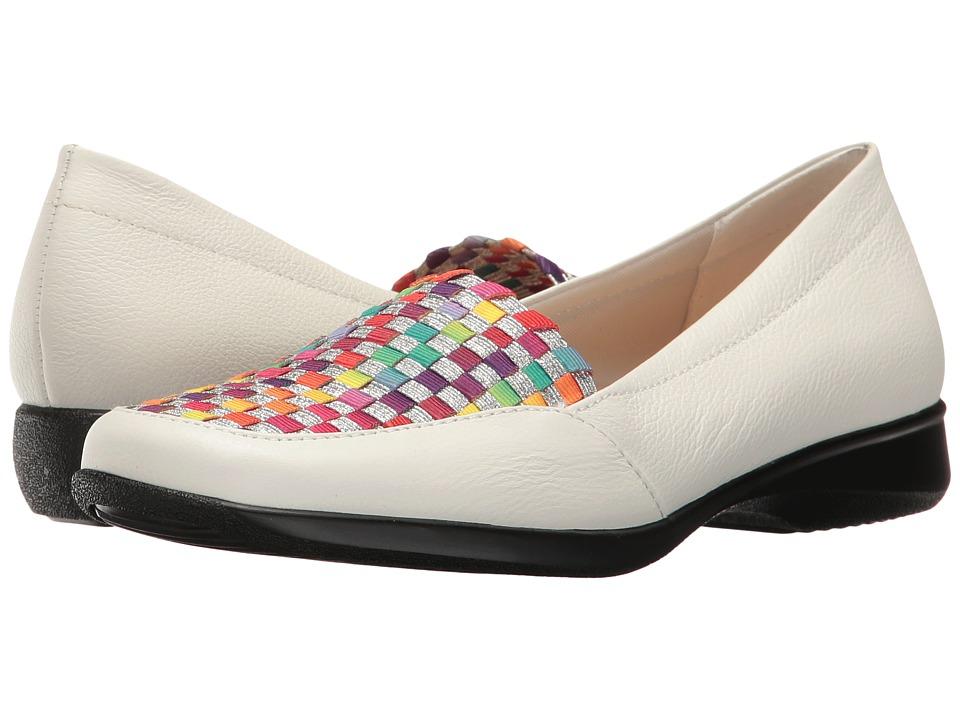 Trotters - Jenkins (White/Bright Multi) Women's Shoes