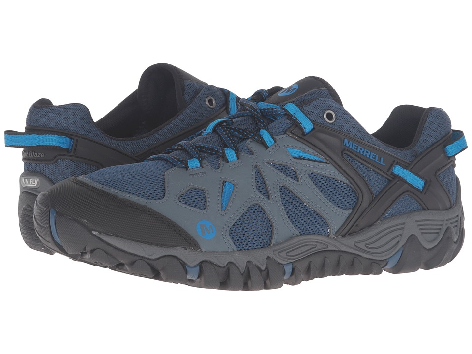 Merrell - All Out Blaze Aero Sport (Dark Slate) Men's Shoes