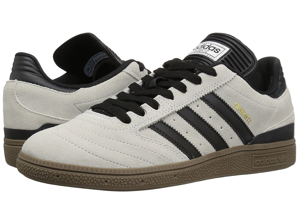 adidas Skateboarding - Busenitz Pro (Crystal White/Black/Gum) Men's Skate Shoes