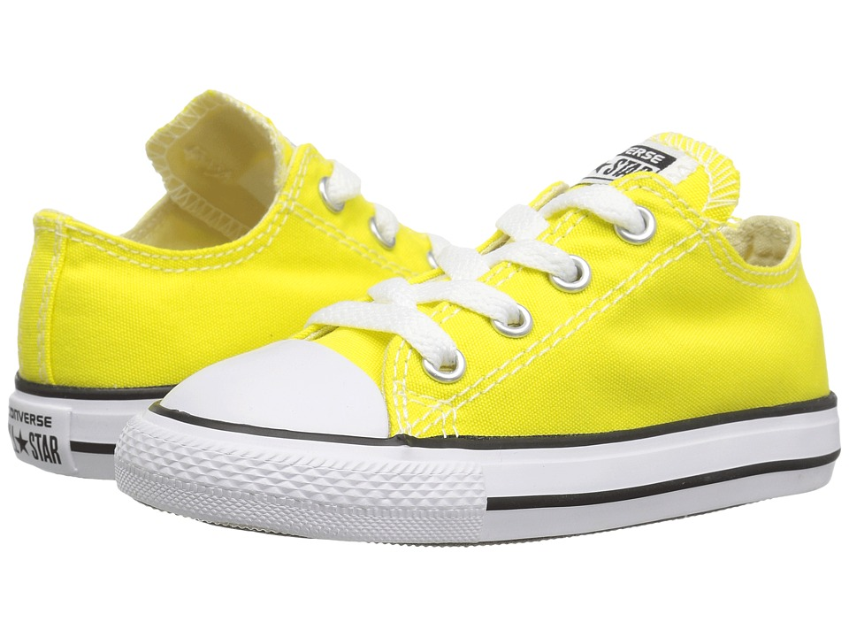 Converse Kids - Chuck Taylor All Star Ox (Infant/Toddler) (Fresh Yellow) Kids Shoes