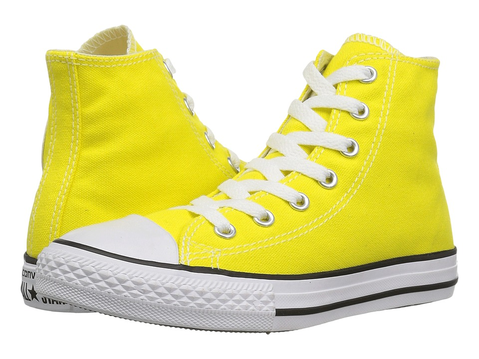 Converse Kids - Chuck Taylor All Star Hi (Little Kid) (Fresh Yellow) Kids Shoes