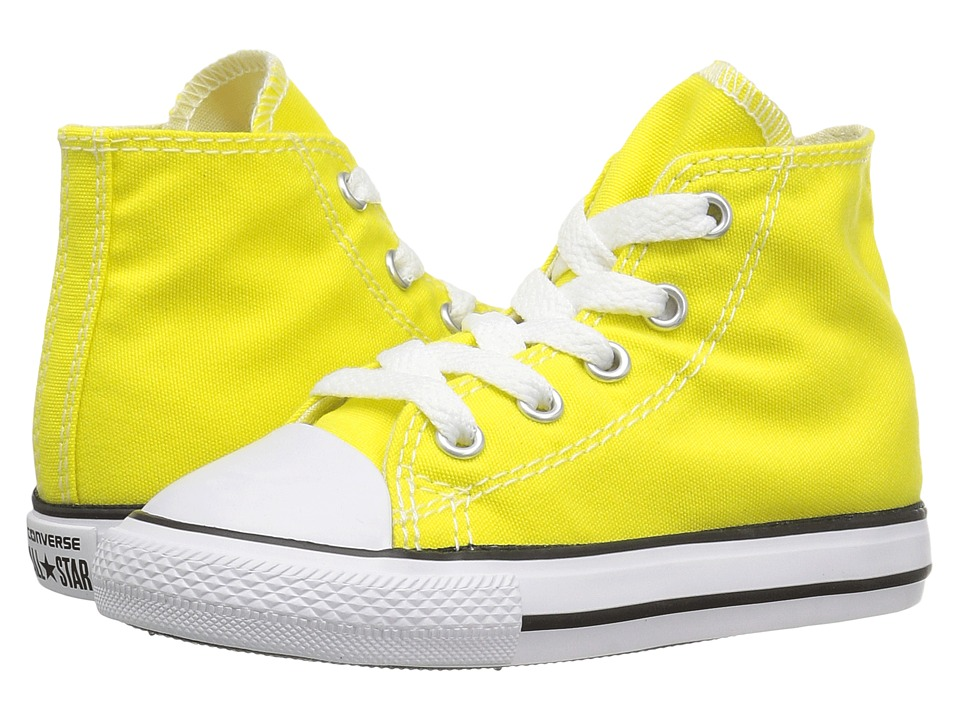 Converse Kids - Chuck Taylor All Star Hi (Infant/Toddler) (Fresh Yellow) Kids Shoes