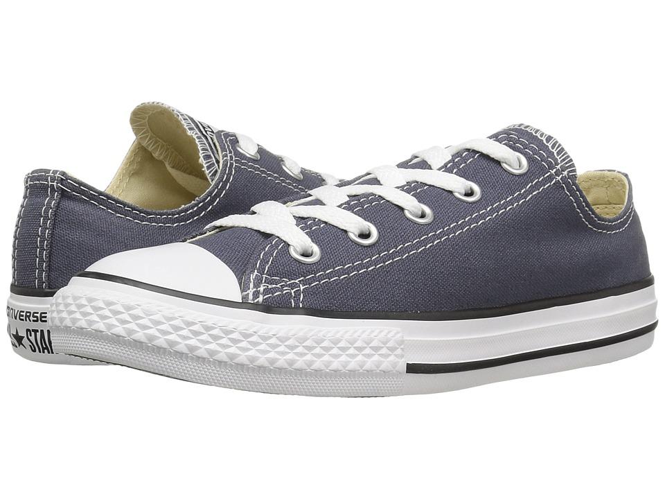 Converse Kids Chuck Taylor All Star Ox (Little Kid) (Sharkskin) Kids Shoes