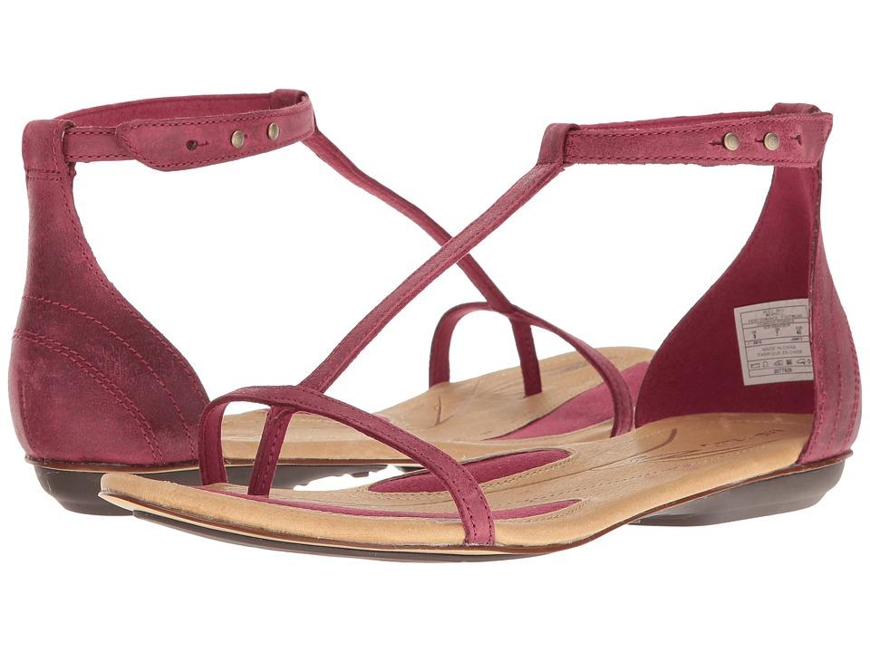 Merrell - Solstice T-Strap (Beet Red) Women's Sandals