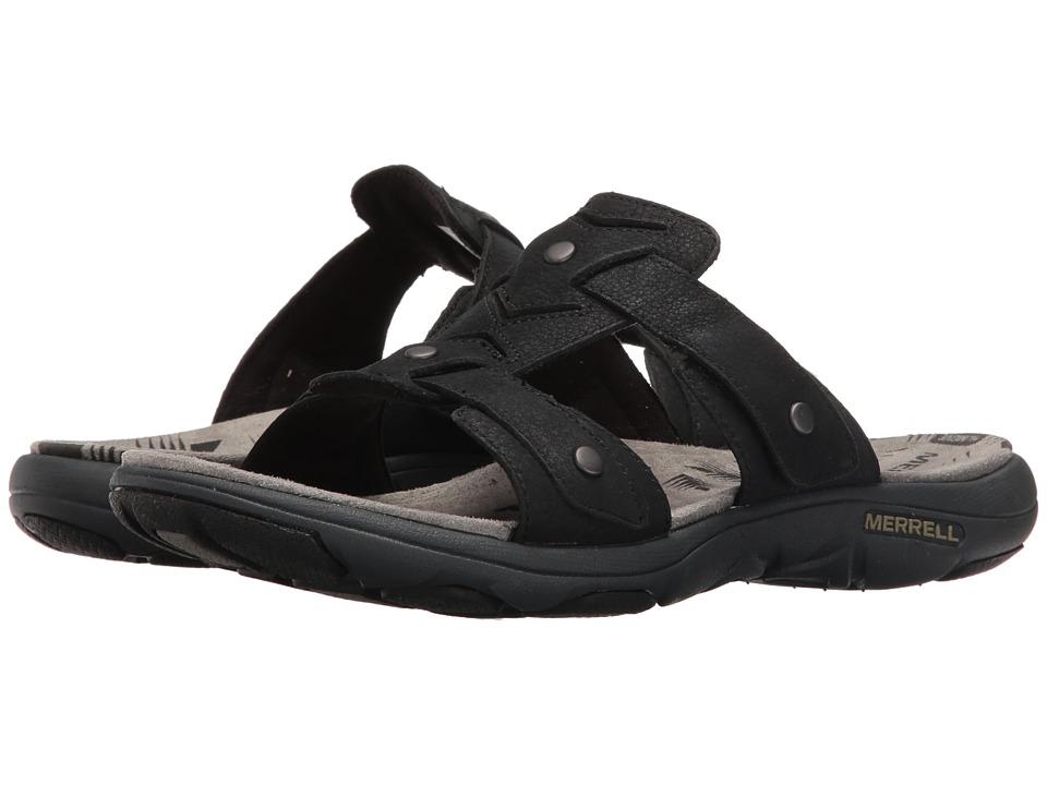Merrell - Adhera Slide II (Black) Women's Sandals