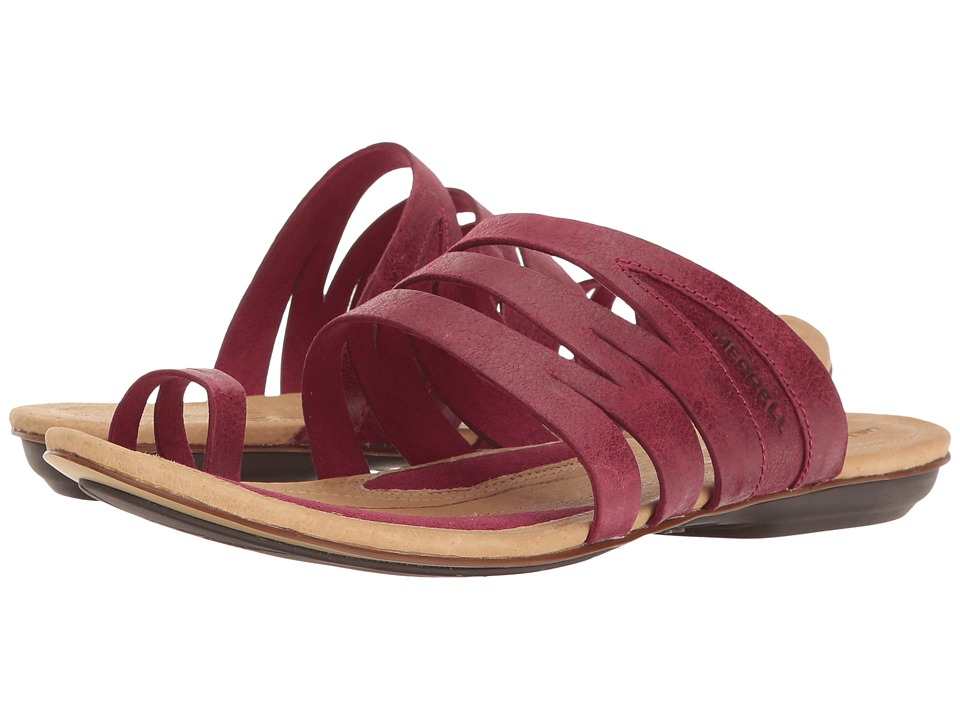 Merrell - Solstice Slice (Beet Red) Women's Sandals