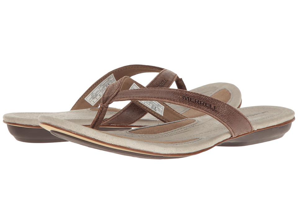 Merrell - Solstice Thong (Clove) Women's Sandals
