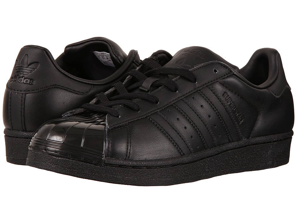 adidas Originals Superstar Glossy Toe (Core Black/Core Black/Footwear Black) Women
