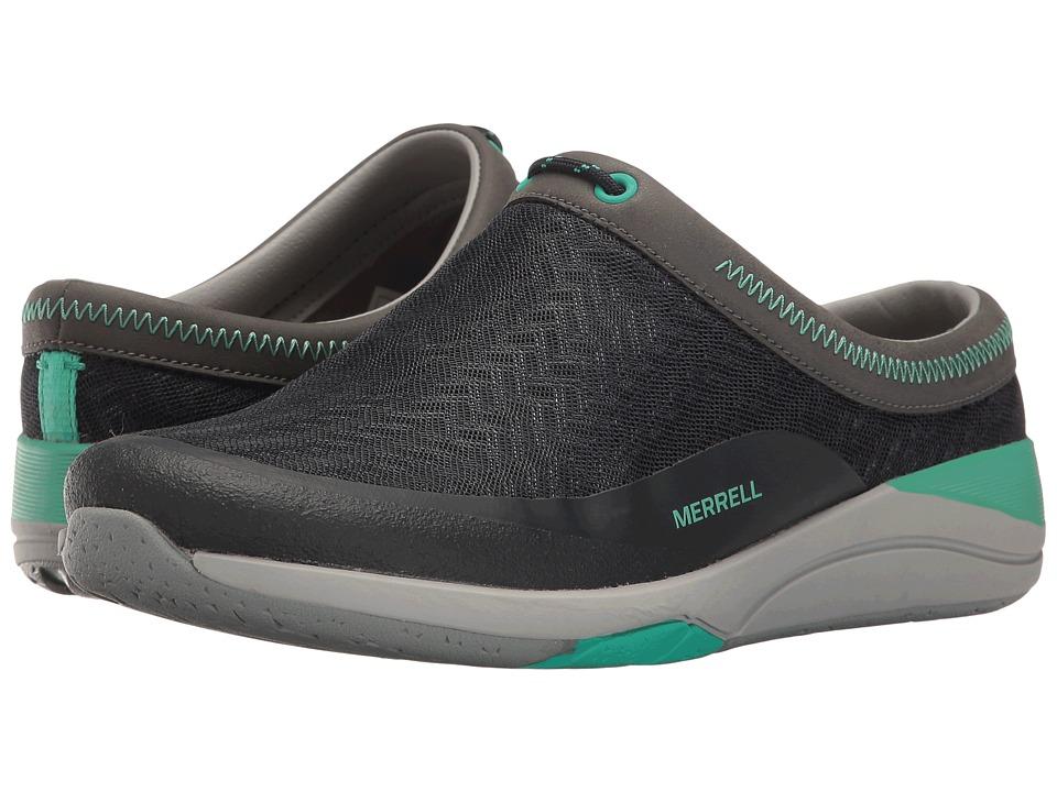 Merrell - Applaud Mesh Slide (Navy) Women's Slip on Shoes