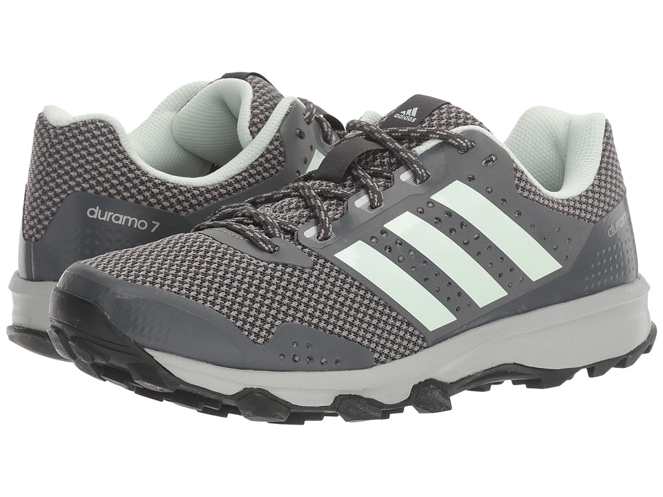 adidas - Duramo 7 Trail (DGH Solid Grey/Ice Mint/CH Solid Grey) Women's Running Shoes