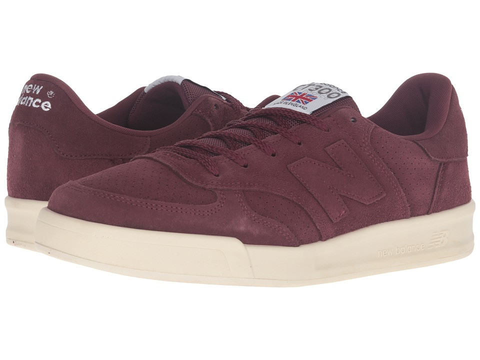 New Balance - CT300 (Burgundy) Men's Shoes