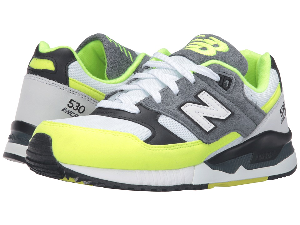 New Balance - W530 (Yellow/Gray/Black) Women's Shoes