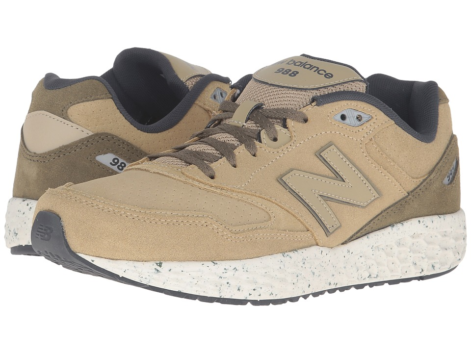 New Balance - M988 (Tan) Men's Shoes