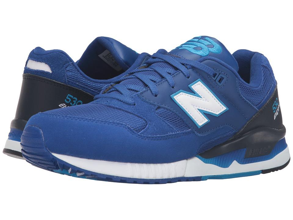 New Balance - M530 (Royal Blue/Black/White) Men's Shoes