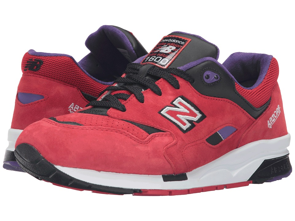 New Balance - CM1600BD (Red/Black) Men's Shoes