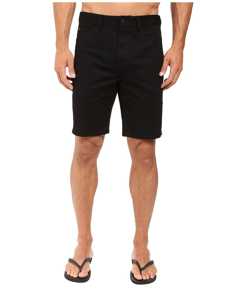 Tavik - Thesis Walkshorts (Black) Men's Shorts
