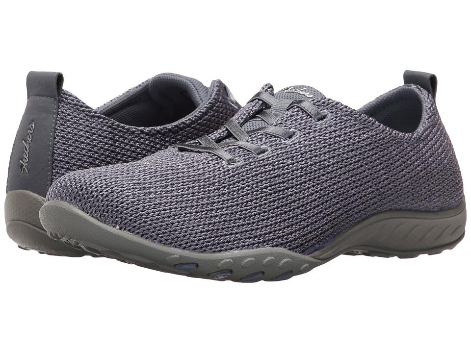 SKECHERS - Breathe Easy - Serendipity (Blue) Women's Shoes