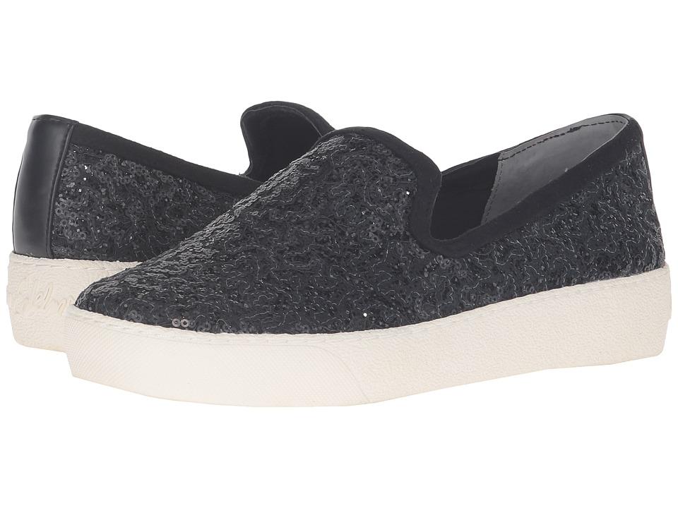 Sam Edelman - Becker (Black Sequins) Women's Slip on Shoes