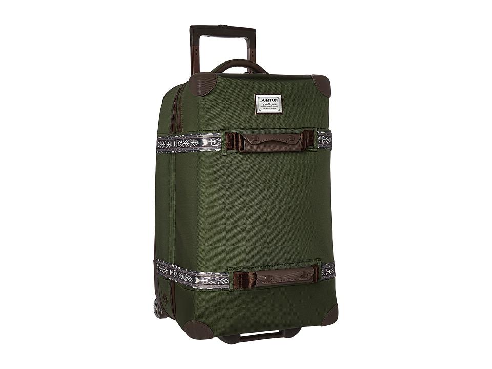 Burton - Wheelie Cargo Travel Luggage (Rifle Green) Luggage