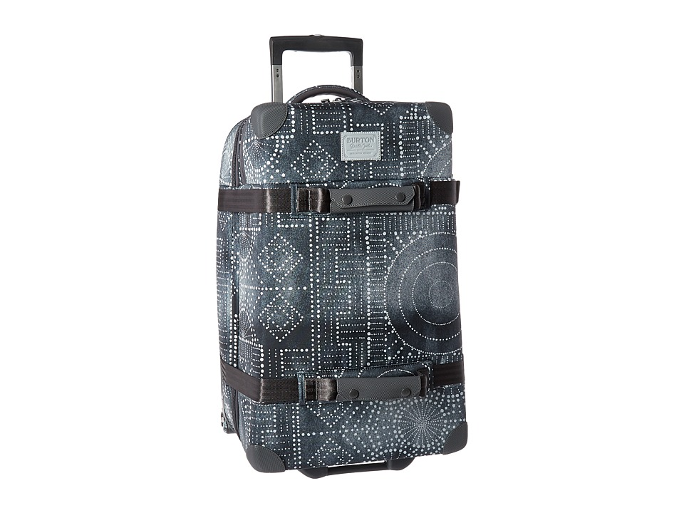 Burton - Wheelie Cargo Travel Luggage (Bandotta Print) Luggage