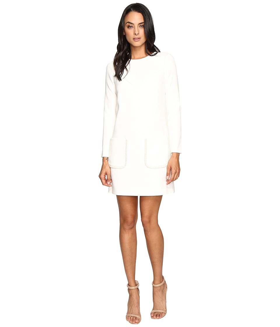 Shoshanna - Houston Dress (Ivory) Women's Dress