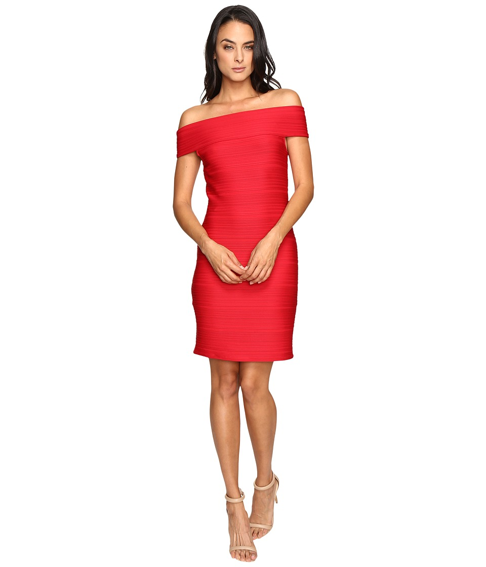 Shoshanna Evan Dress (Ruby) Women