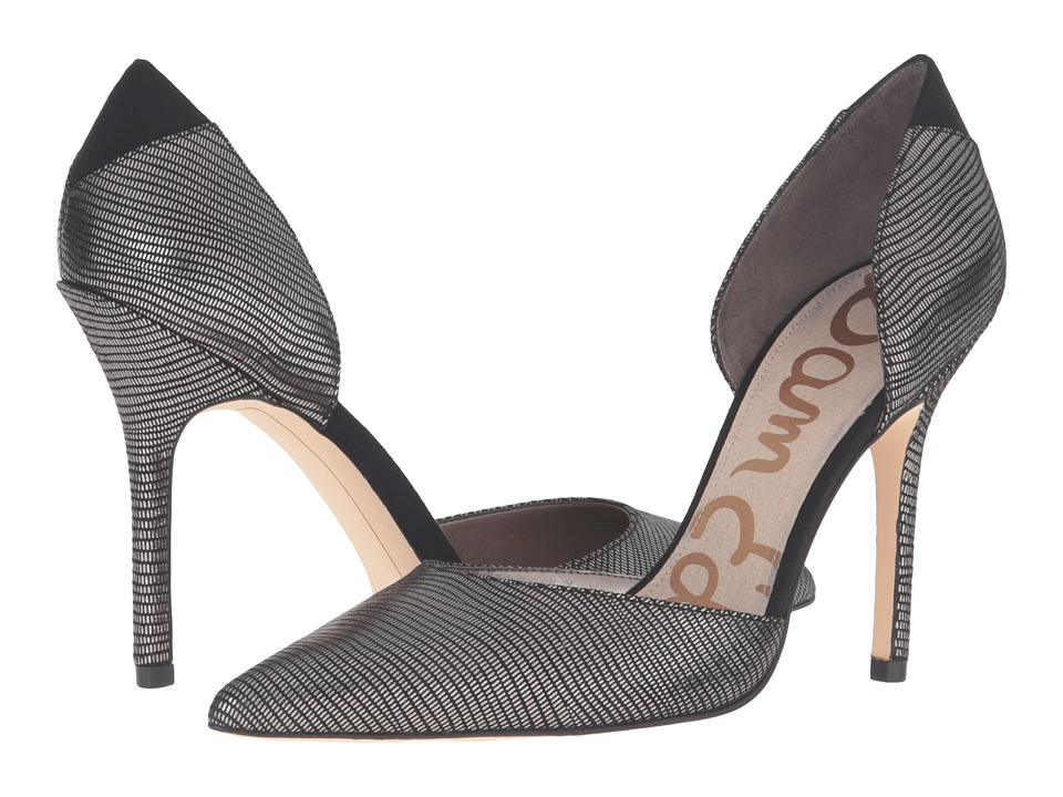 Sam Edelman - Delilah (Pewter/Black) High Heels