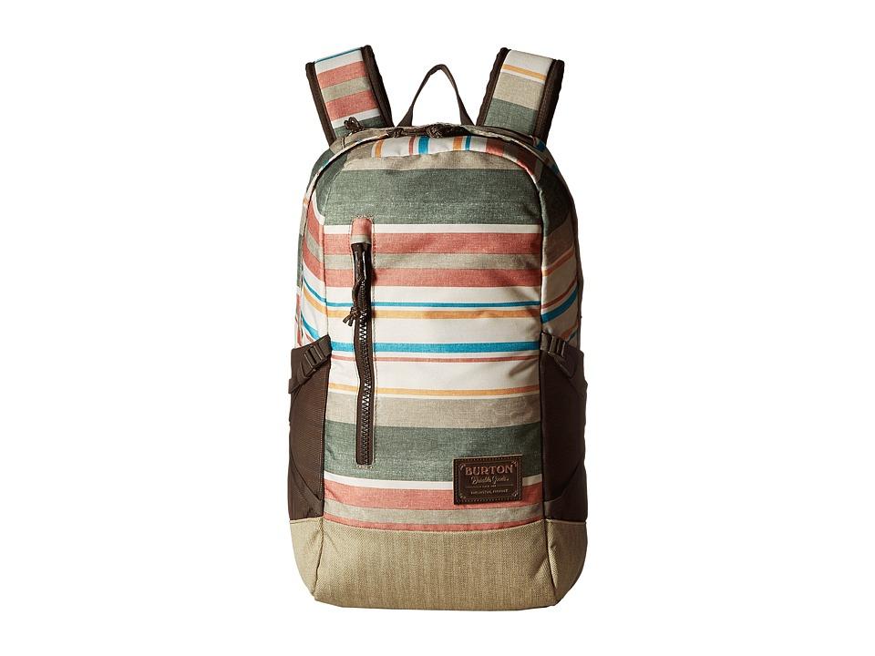 Burton Prospect Backpack (Rancher Stripe Print) Backpack Bags