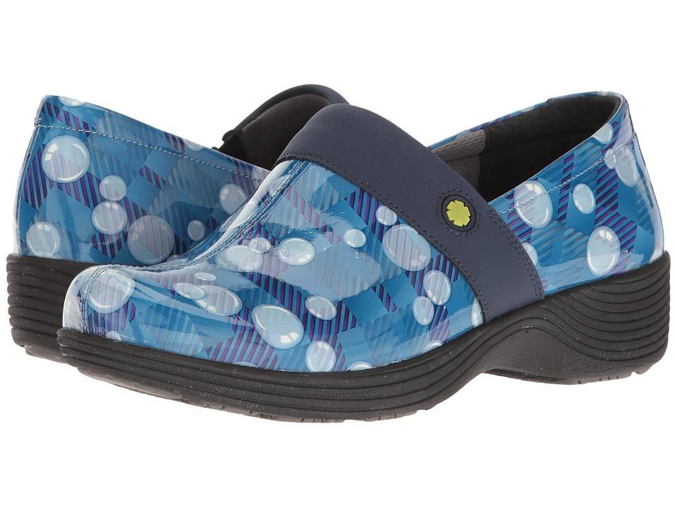Dansko - Camellia (Bubbles Plaid Patent) Women's Clog Shoes