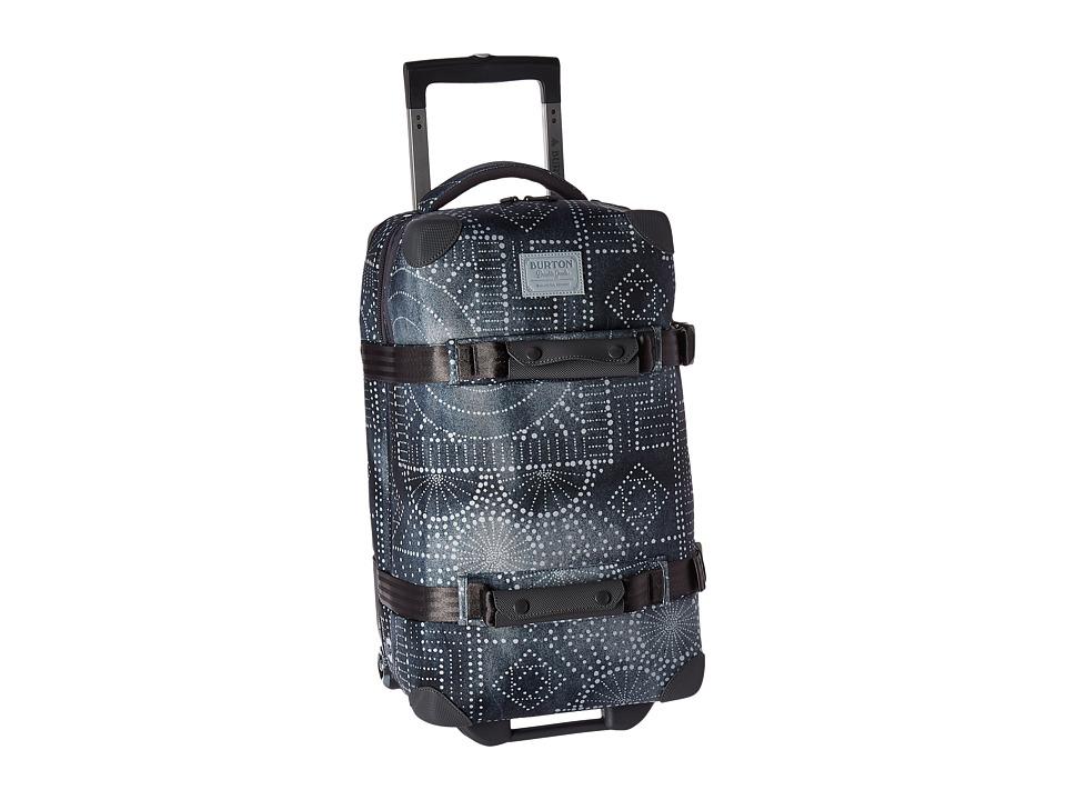 Burton - Wheelie Flight Deck Travel Luggage (Bandotta Print) Luggage