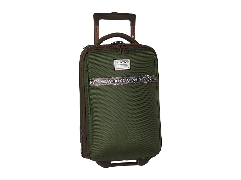Burton - Wheelie Flyer Travel Luggage (Rifle Green) Luggage